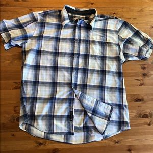 Marmot XL button down t-shirt